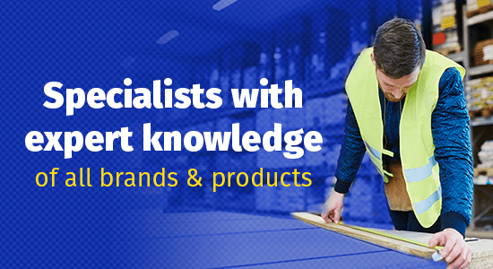 specialists with expert knowledge